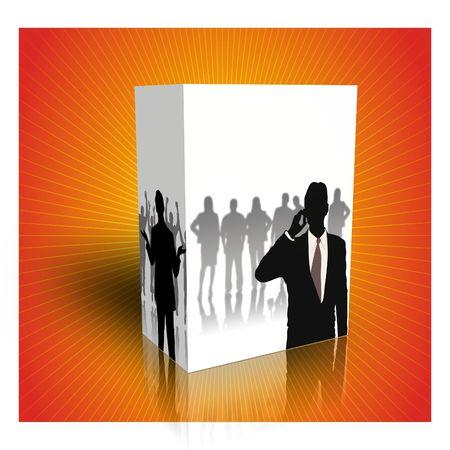 hombre: 3d box for generics products
