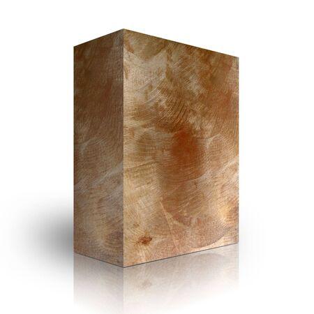 Metal box on a white background Stock Photo - 3628000