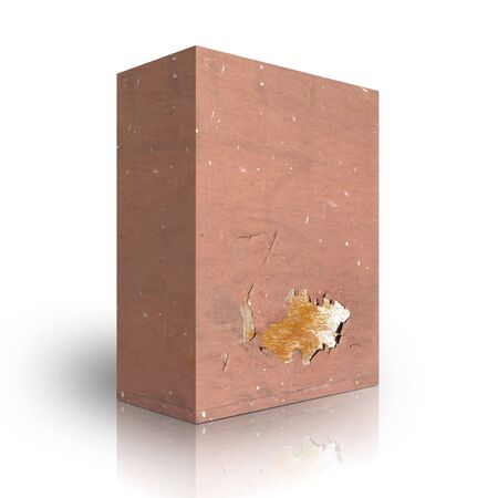 Metal box on a white background Stock Photo - 3627973