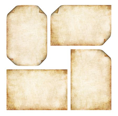 yesteryear: Colecci�n de pergamino antiguo