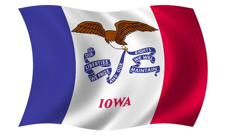Flag of Iowa photo