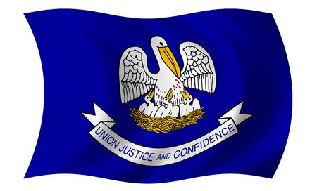 Flag of Louisiana photo
