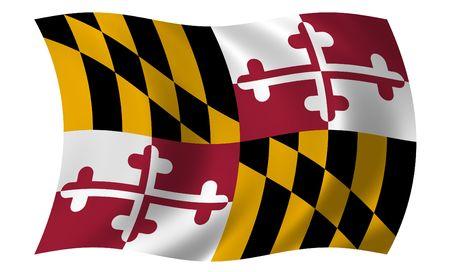 maryland: Flag of Maryland