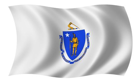 Flag of Massachusetts photo