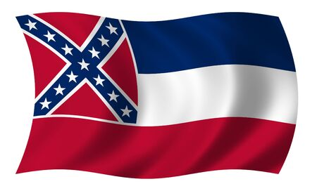 Flag of Mississippi photo