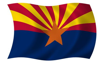 Flag of Arizona photo