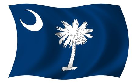 Flag of South Carolina photo