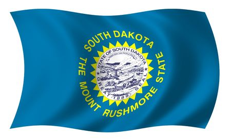Flag of South Dakota photo