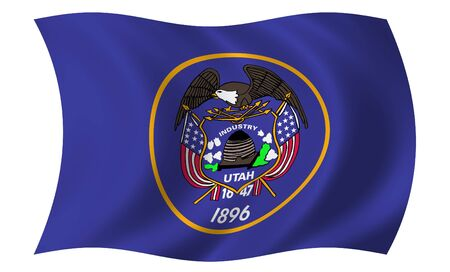 Flag of Utah photo