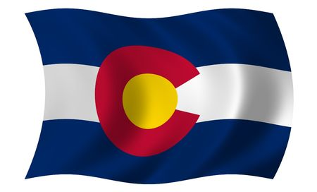Flag of Colorado photo
