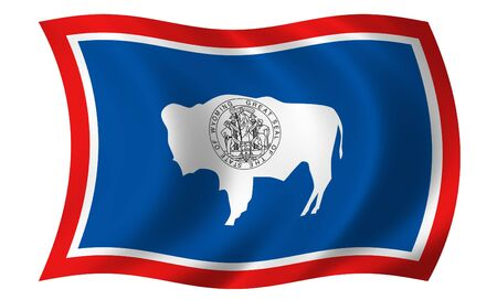 Flag of Wyoming photo