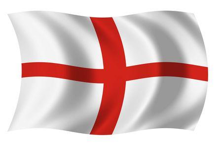 Bandera de Inglaterra Foto de archivo - 3743250