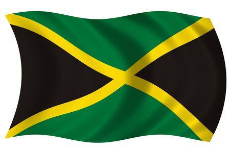 hilly: Flag of Jamaica