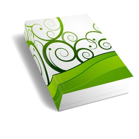 bookbinding:  Book, Notebook, generic white background