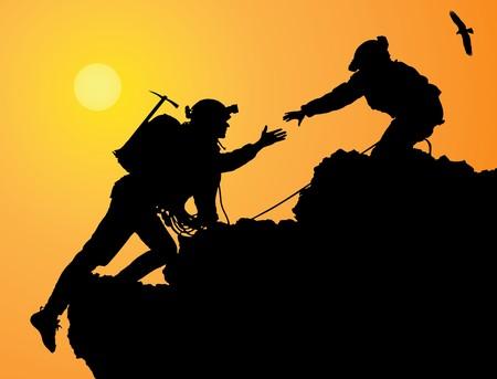 Mountain Climbing Stock Photo - 4116528
