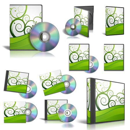 DVD case for software disks photo