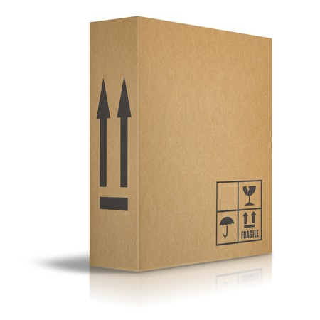 packaging industry: Cardboard boxes for the transport of goods
