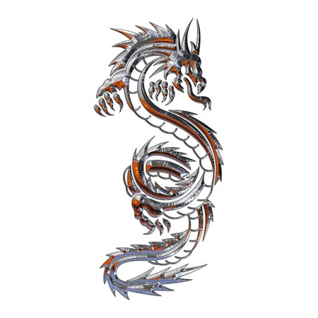 Illustration of a mythical dragon Stock Illustration - 4313506