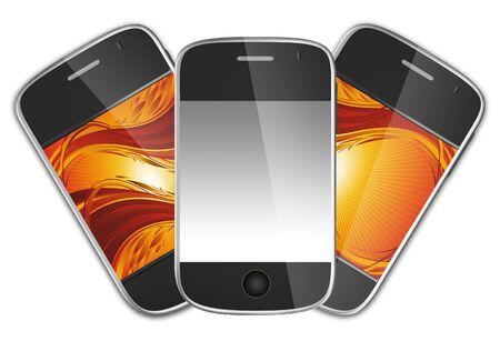 Ultimate generation mobile phones photo