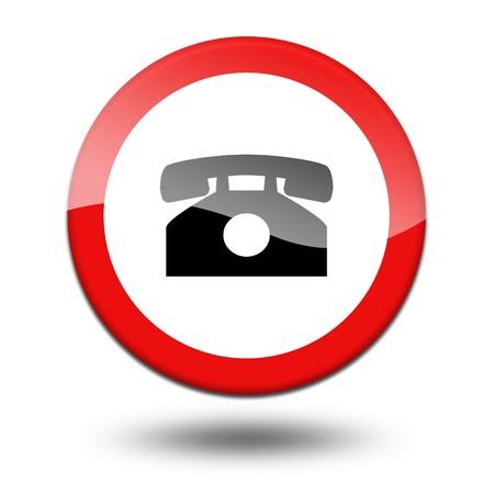precautionary: Traffic Signal Stock Photo