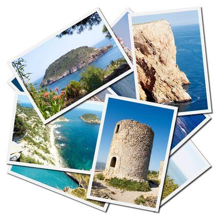 mediterranean forest: Javea Mediterranean city of Alicante Province - Spain Stock Photo