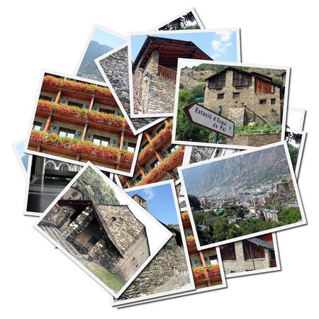 Collection of photographs of Andorra in Europe photo