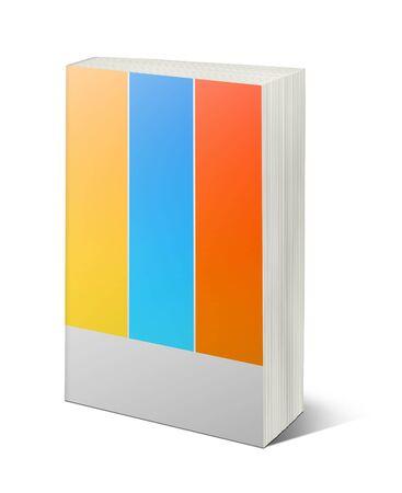Illustration of  book on white background Stock Illustration - 7059534