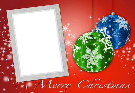 小話のクリスマス カードをあなたの写真を追加するには