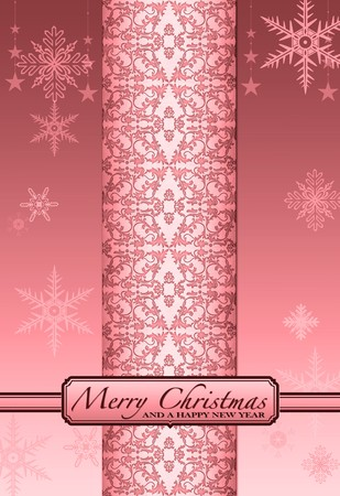 Illustration Christmas Background , Chrismas  Card Stock Illustration - 7677415
