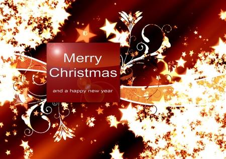 Illustration Christmas Background , Chrismas  Card Stock Illustration - 7685151