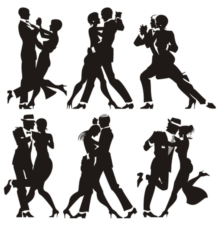 man and woman dance at a party photo
