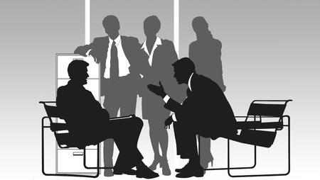 group of people in the office Stock Photo - 8989728