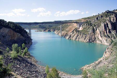 Contreras reservoir. Hoces del Cabriel. Valencia and Cuenca provinces border. Spain  photo