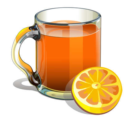 illustration of a pitcher of orange juice Stock Illustration - 9566716