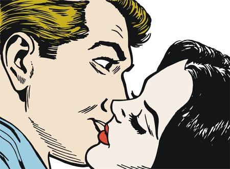 enamorados caricatura: colección de ilustraciones pareja de jóvenes enamorados