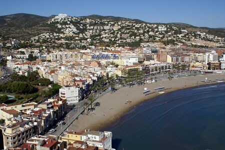 Views of the City - Peniscola (Castellon) Costa Azahar-Spain-Maestrat Baix Stock Photo - 11208734