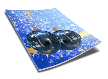 3D Christmas balls picture book Stock Photo - 11208689