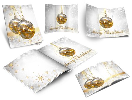 Collection of Christmas balls picture books Stock Photo - 11208722