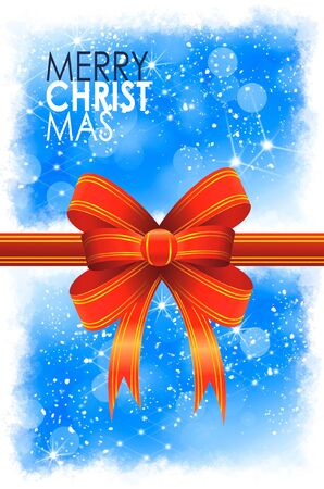 Christmas balls card illustration Stock Illustration - 15614141