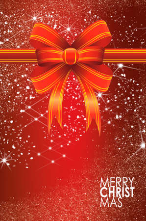 Christmas balls card illustration Stock Illustration - 15614138