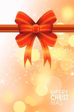 Christmas balls card illustration Stock Illustration - 15614118