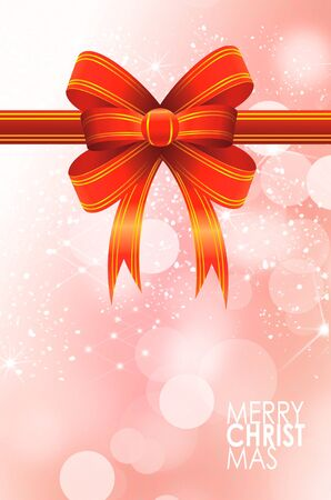 Christmas balls card illustration Stock Illustration - 15614127