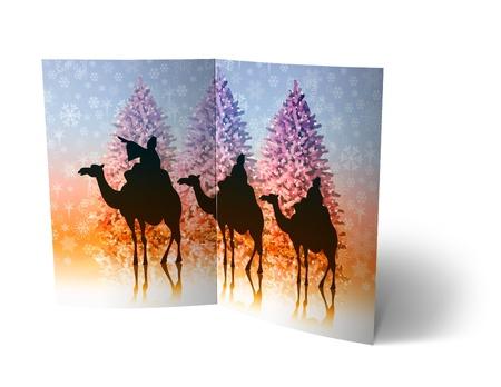 isolated 3d Christmas Balls brochure, Card Illustration Stock Illustration - 16023404