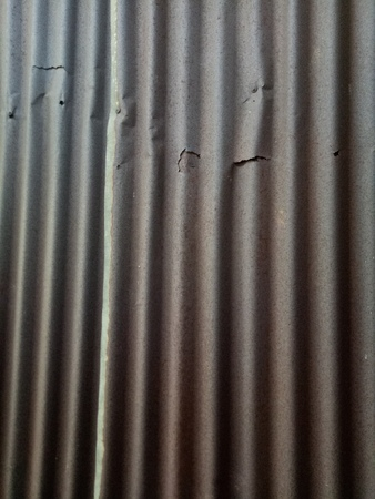 Zinc plate rust Background material wall textures 写真素材 - 116144419