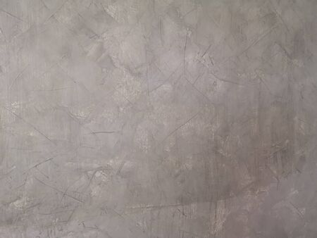 cement wall bare polished gray color and smooth surface texture concrete material vintage background detail architect construction loft style brick walls plastered and painted Reklamní fotografie