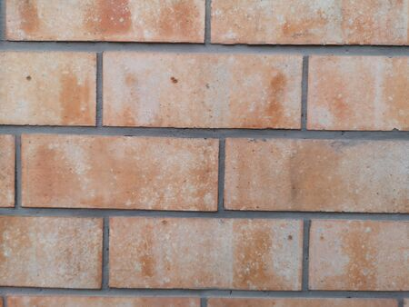 brick walls show Pattern stack block rough surface texture material background Weld the joints with cement Reklamní fotografie