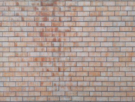 les murs de briques montrent le bloc de pile de modèle surface rugueuse texture fond matériel Souder les joints avec du ciment Banque d'images
