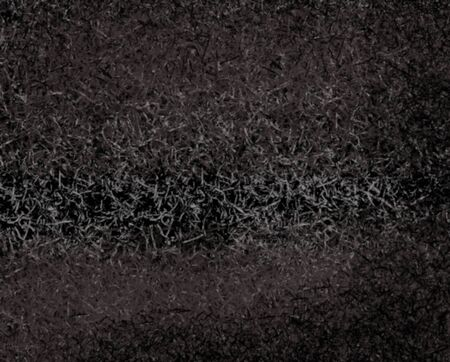 The distribution of color and abstract background black tone color, rough texture stamped soft gray color on black paper by program computer 写真素材