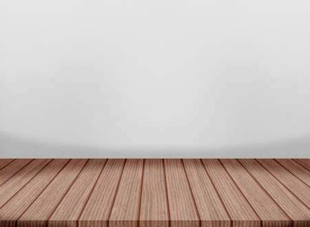 Wooden floor cement wall gray color smooth surface texture concrete material background detail architect construction