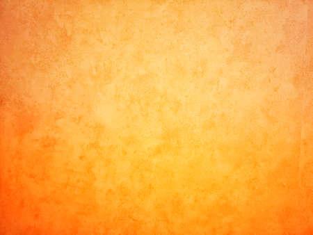 Yellow, orange color background gradient color paint space for copy write rough texture material Foto de archivo
